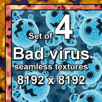 Bad Virus 4x Seamless Textures