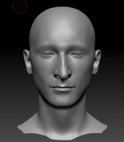head men 3d obj