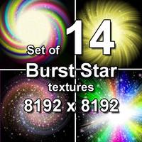 Burst Star 14x Textures