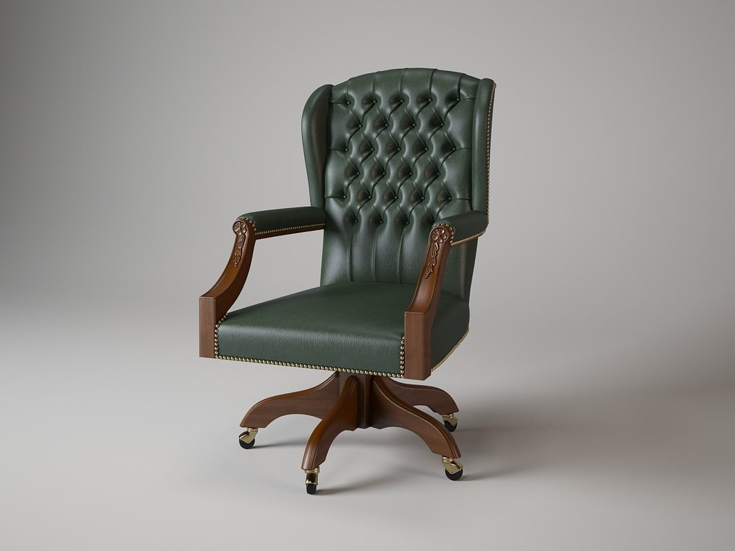 0513 directors swivel chair 3d model