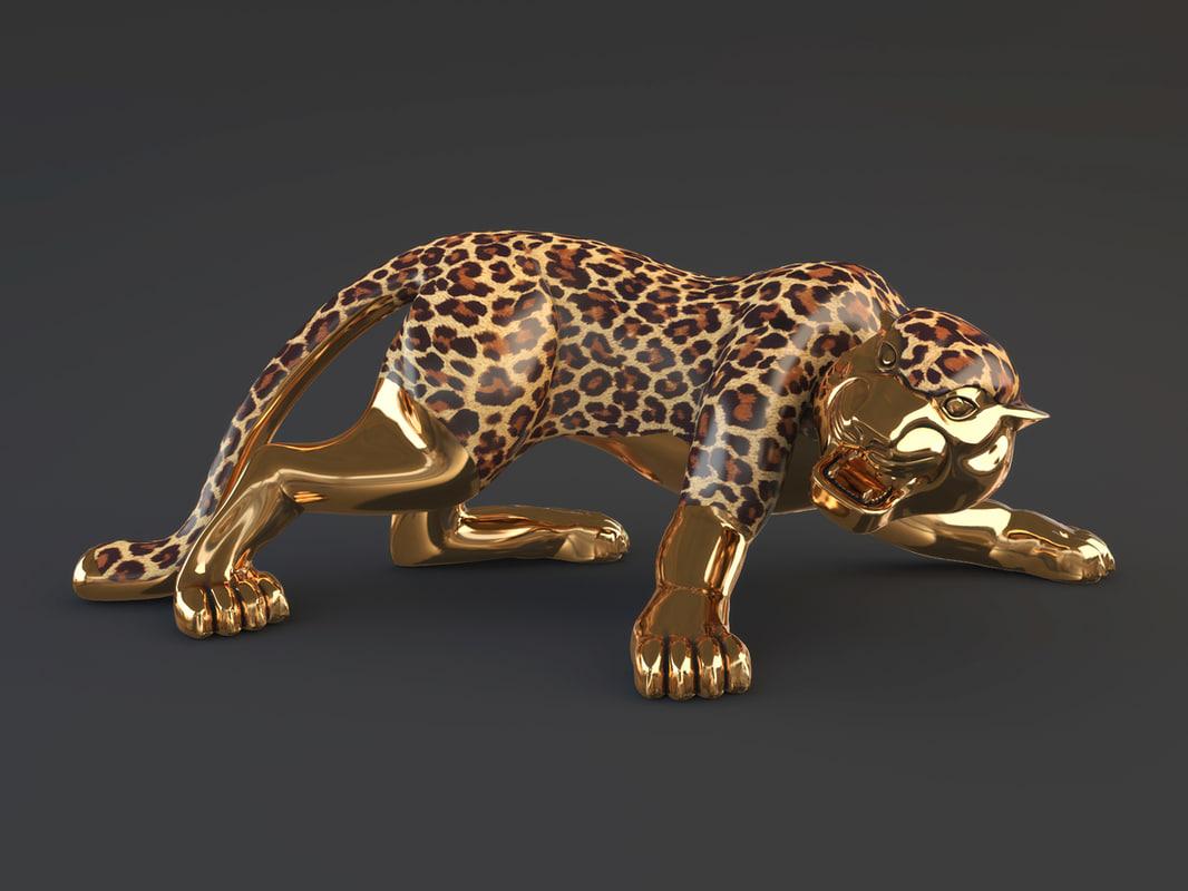 3d model statuette decoration