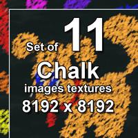 Chalk Image 11x Textures