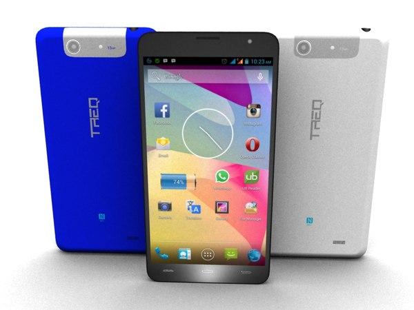 3d smartphone treq x1 model