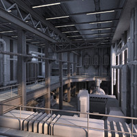 Industrial Interior 01