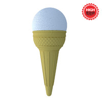 Ice Cream Cone - Lemon