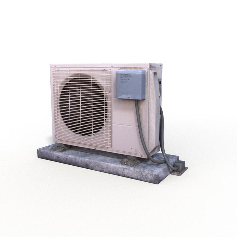 3d max air conditioner