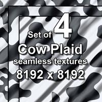 Cow Plaid 4x Seamless Textures