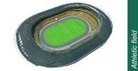 3d model stadium