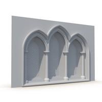 Gothic Window 010