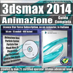3ds max 2014 Animazione Guida Completa 3 Mesi Subscription