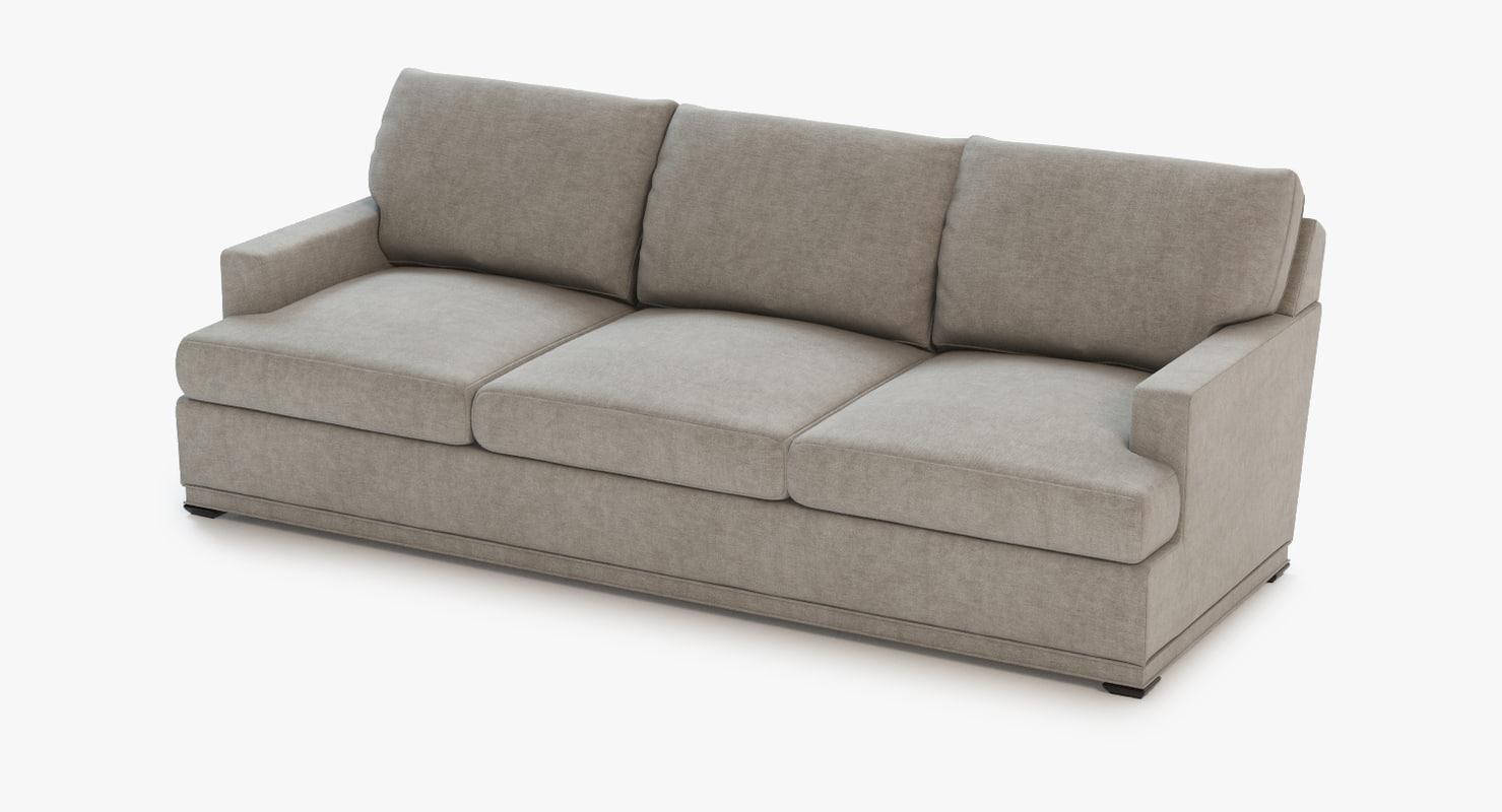 3d chado sofa model