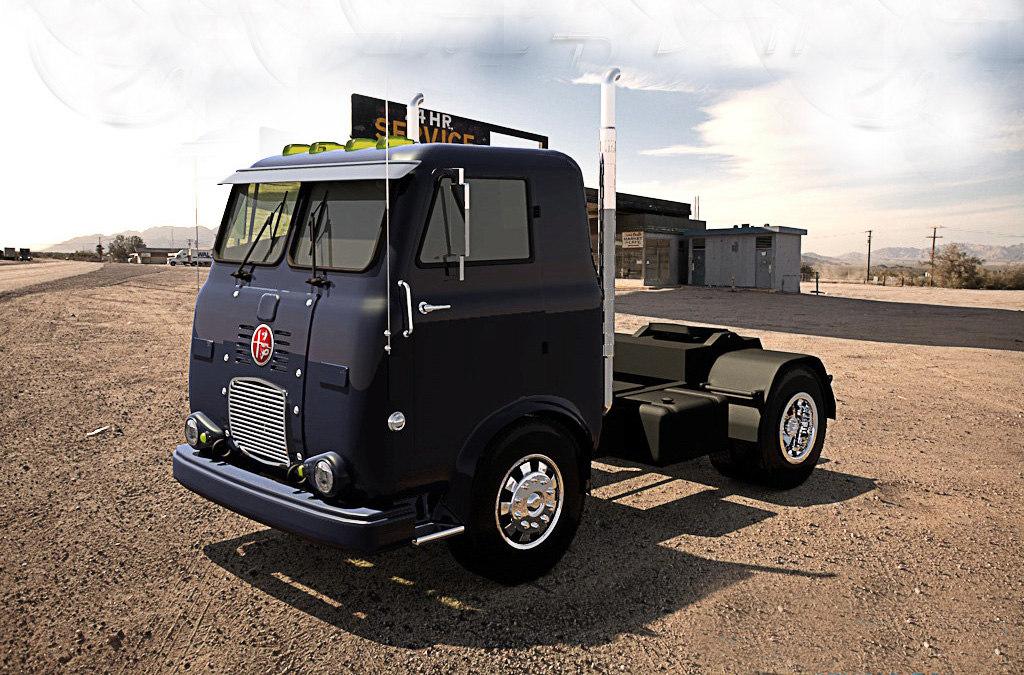 truck fnm d11000 - 3d model