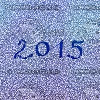 2015 snowflakes inscription