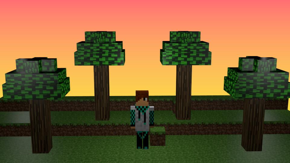 3d minecraft