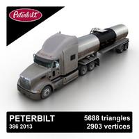 2013 386 tanker 3d max