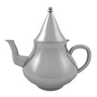 teapot traditional kitchen 3d model