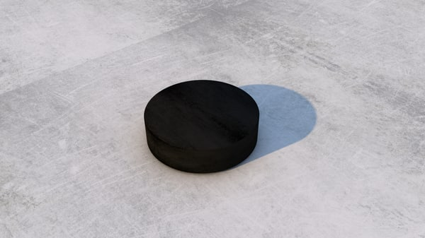 hockey puck 3d model