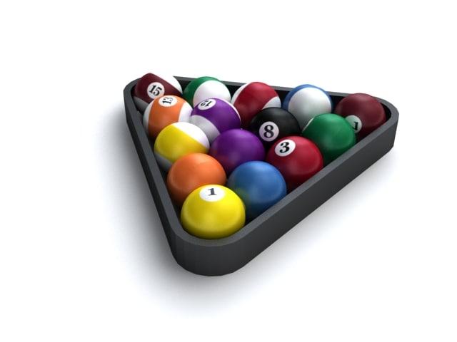 max billard balls