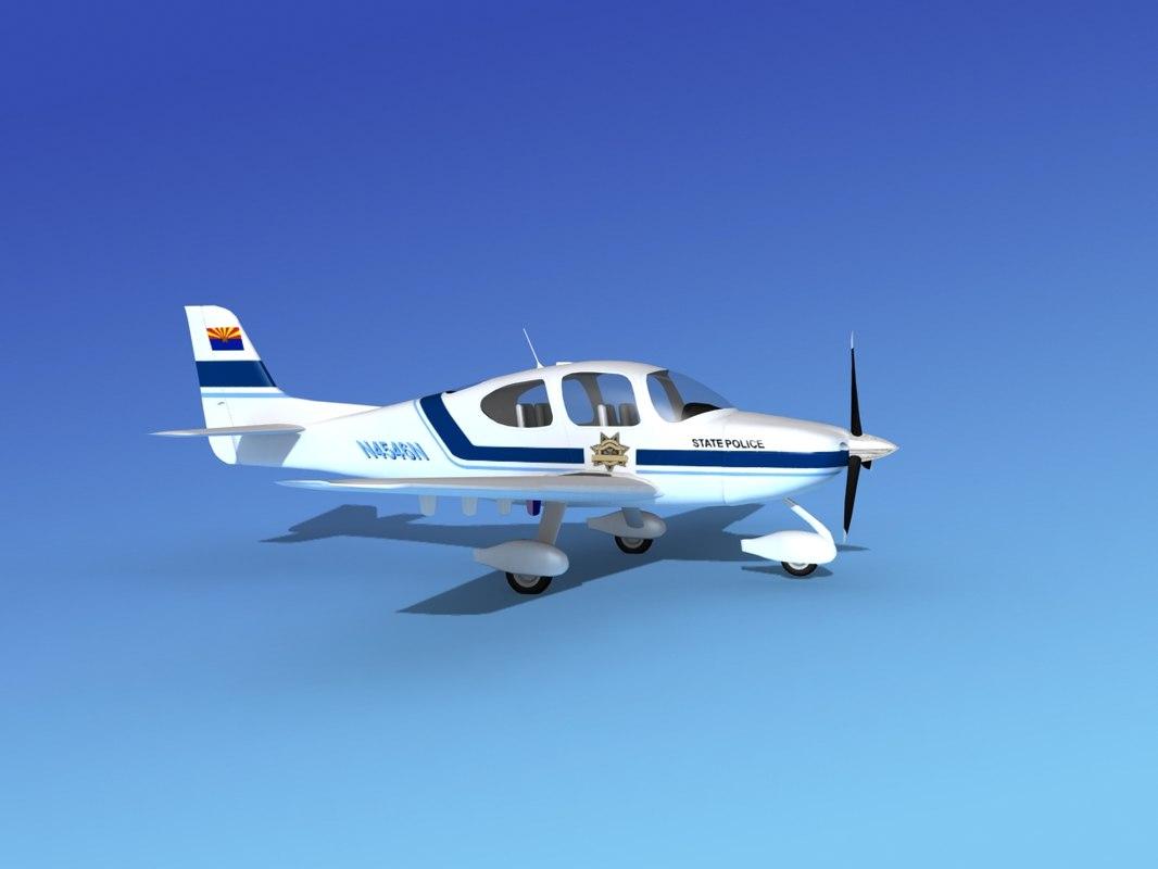 3d propeller cirrus sr22