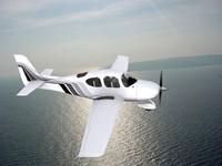 3d propellers modern aircraft model