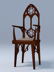 chair gothic max