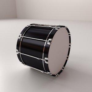 bass drum 3ds