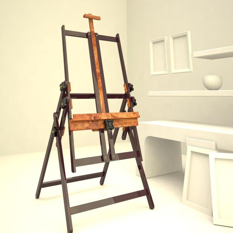 maya easel art studio