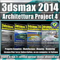 3ds max 2014 Architettura Project 4 Subscription