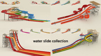 3ds max water slide
