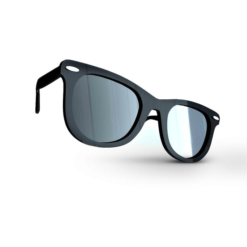 3d model protect sunglasse