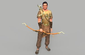 max warrior character