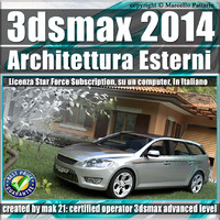2014 architettura esterni subscription 3d x