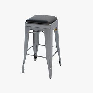 3d tolix stool