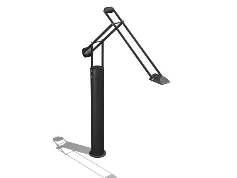 3ds max sg floor lamp