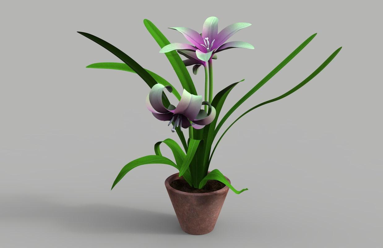 3ds max plant flower