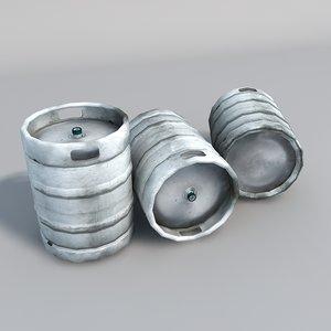 3d beer barrel