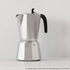 coffe maker obj