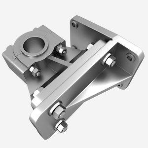 bearing bracket 3d model