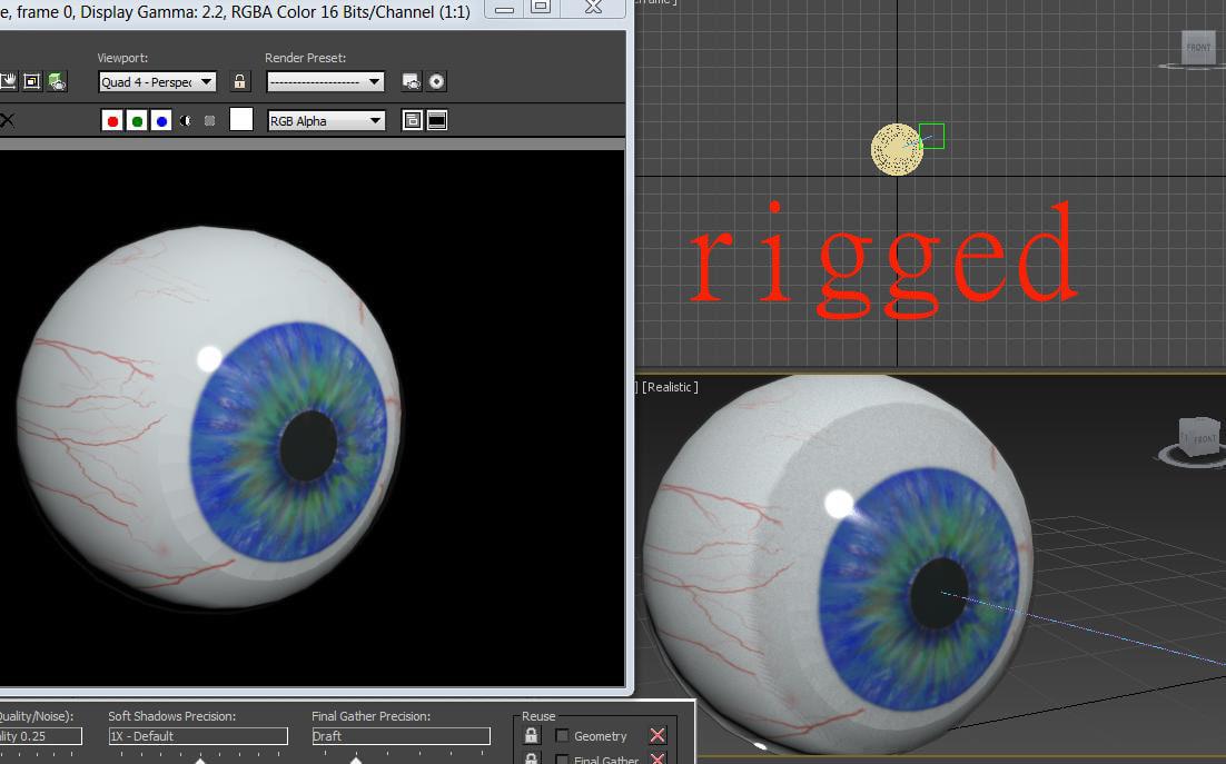 eyeball eye 3d model