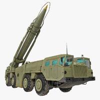 Scud Missile Launcher MAZ-543