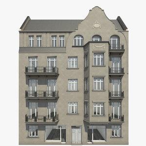 3d 3ds berlin residence finowstrasse 34