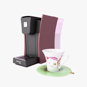 tea machine t 3d model