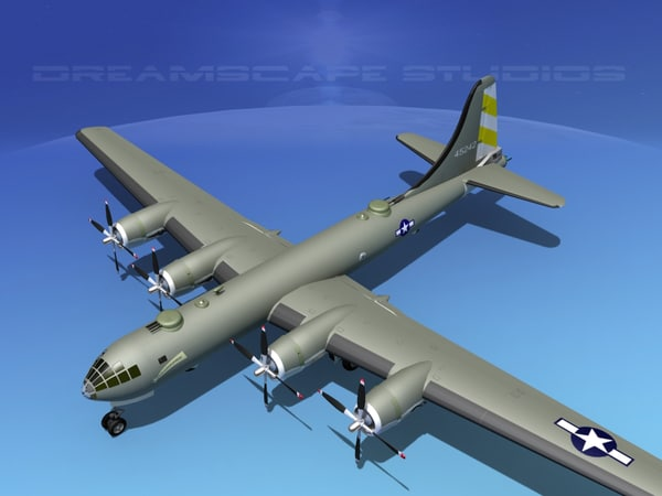 3d superfortress b-29 bomber