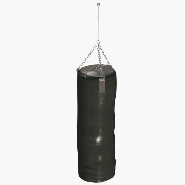 boxe bag 3d 3ds