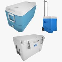 ice chest 3d model