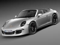 Porsche 911 Carrera GTS Cabrio 2015