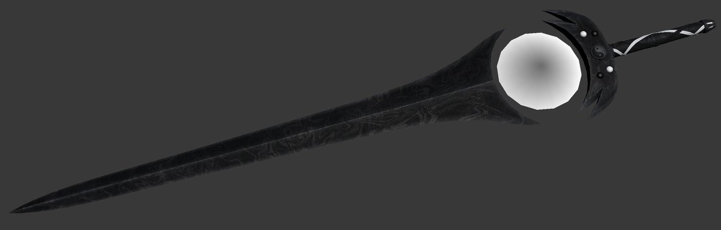 fantasy sword tenebrae 3d 3ds