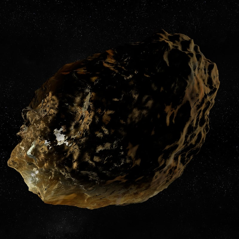 asteroid space science c4d