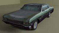 chevrolet impala 3ds
