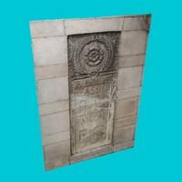 roman bas relief 2 3d 3ds